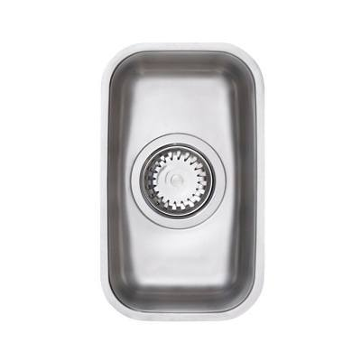 Astracast Edge H1 0.5 Bowl Stainless Steel Undermount Sink