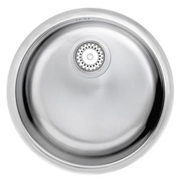 Astracast Onyx 1.0 Bowl Round Stainless Steel Undermount Sink ...