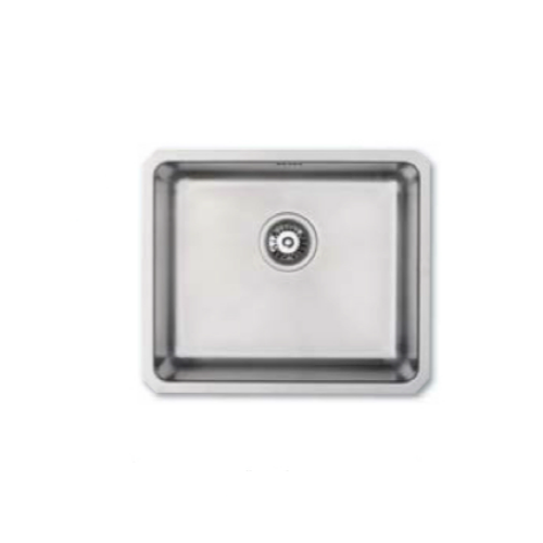 Bretton Park Darwen UM1024 1.0 Bowl Undermount Stainless Steel Kitchen Sink