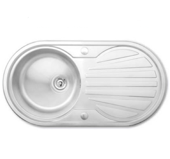 Bretton Park Derwent 1.0 Bowl Stainless Steel Kitchen Sink