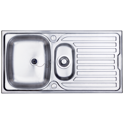 Bretton Park Illinois 1.5 Bowl Stainless Steel Kitchen Sink