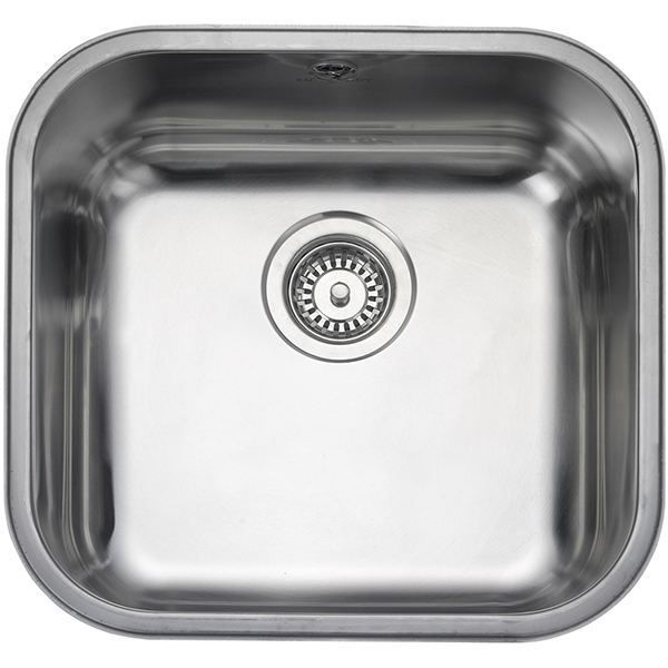 Rangemaster Atlantic Classic 1.0 Bowl Stainless Steel Undermount Sink UB40
