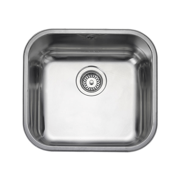 Rangemaster Atlantic Classic 1.0 Bowl Stainless Steel Undermount Sink UB45