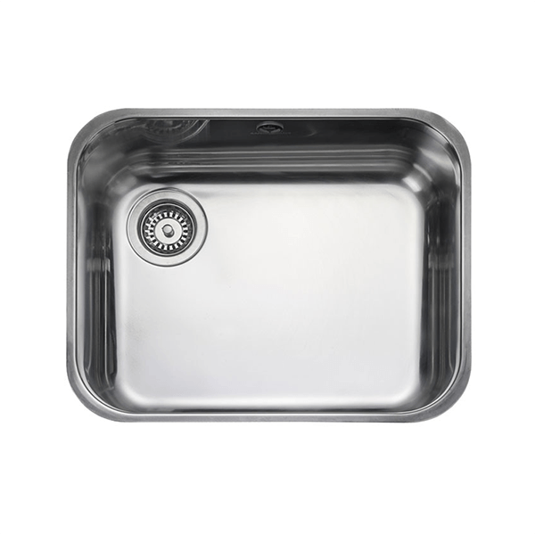 Rangemaster Atlantic Classic 1.0 Bowl Stainless Steel Undermount Sink UB50