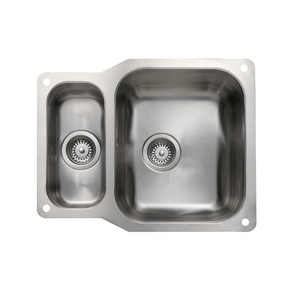 Rangemaster Atlantic Classic 1.5 Bowl Stainless Steel Undermount Sink UB3515L
