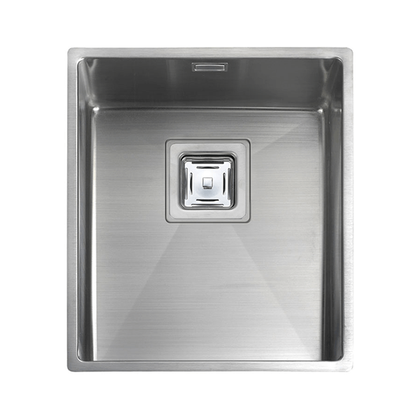 Rangemaster Atlantic Kube 1.0 Bowl Stainless Steel Undermount Sink KUB34