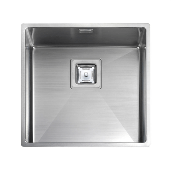 Rangemaster Atlantic Kube 1.0 Bowl Stainless Steel Undermount Sink KUB40