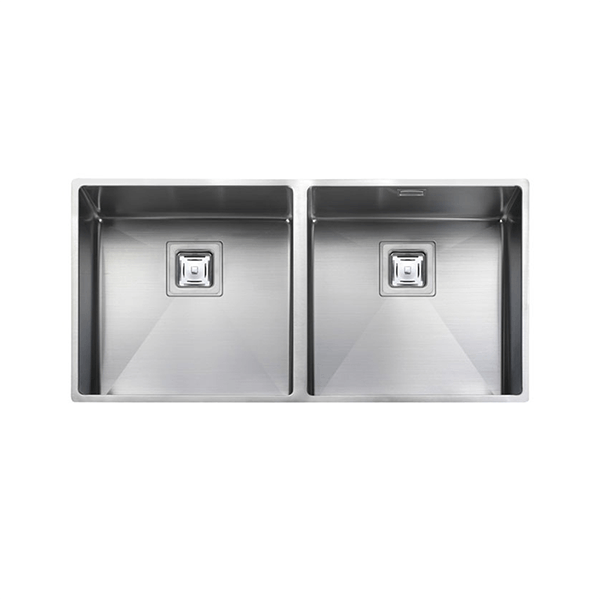 Rangemaster Atlantic Kube 2.0 Bowl Stainless Steel Undermount Sink KUB4040