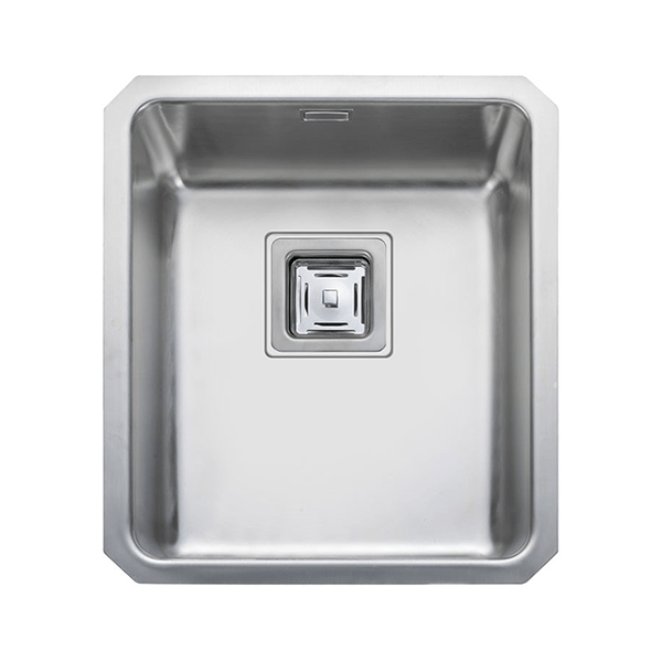Rangemaster Atlantic Quad 1.0 Bowl Stainless Steel Undermount Sink QUB34