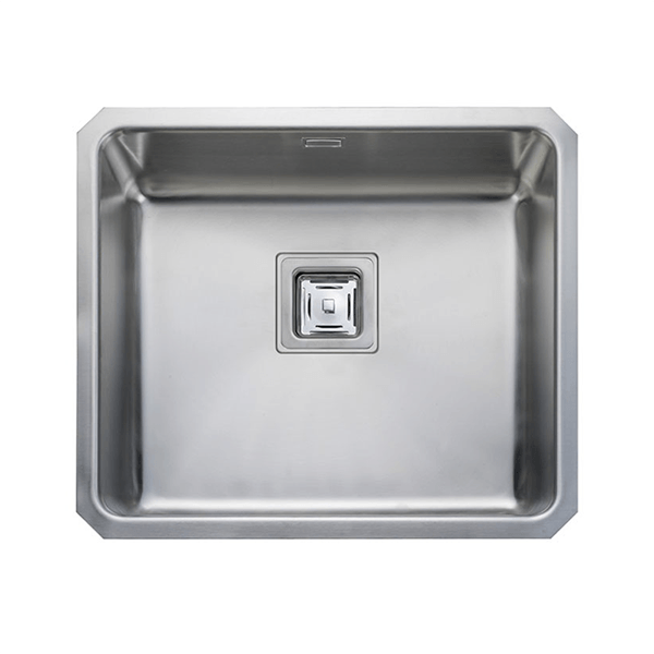 Rangemaster Atlantic Quad 1.0 Bowl Stainless Steel Undermount Sink QUB48