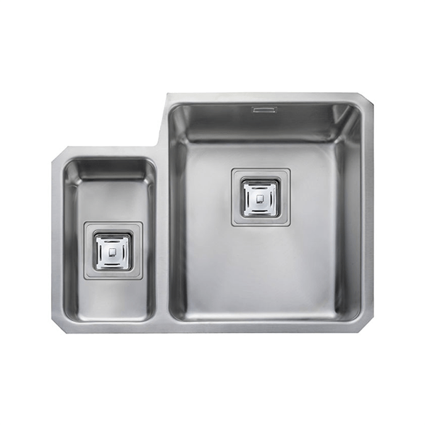 Rangemaster Atlantic Quad 1.5 Bowl Stainless Steel Undermount Sink QUB3416L