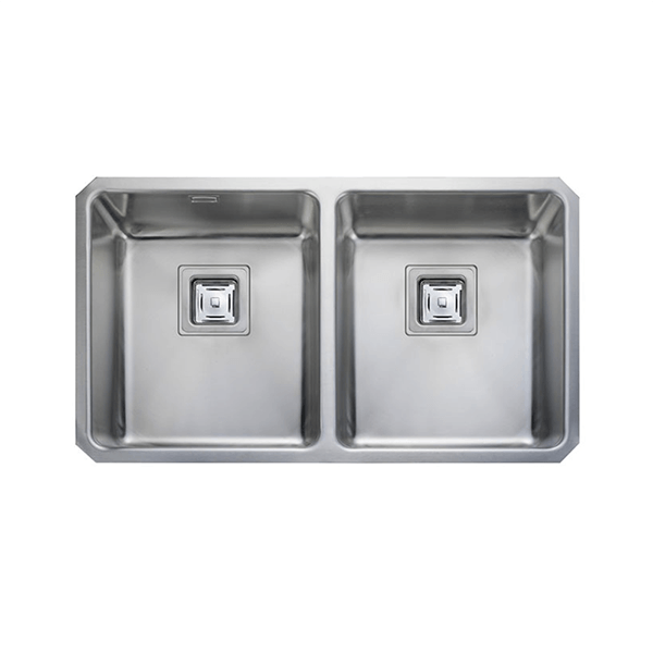 Rangemaster Atlantic Quad 2.0 Bowl Stainless Steel Undermount Sink QUB3434
