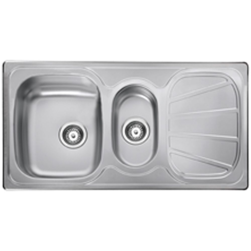 Rangemaster Baltimore 1.5 Bowl Stainless Steel Kitchen… Product Image