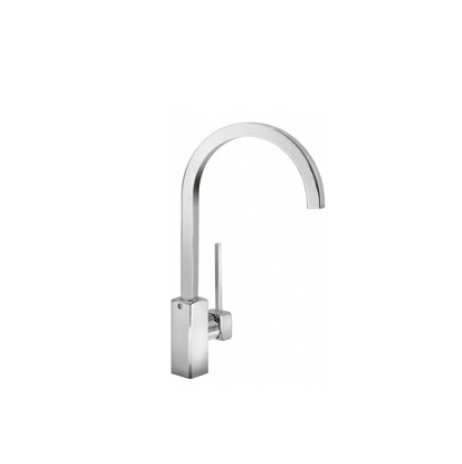 Smeg UKParma Chrome Single Lever Kitchen Mixer Tap