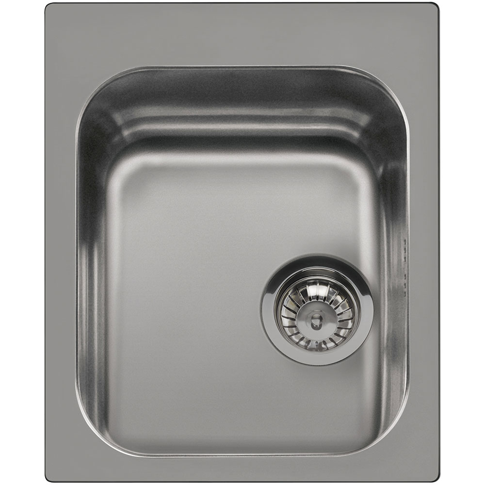 Smeg Alba VS34P3 1.0 Bowl Stainless Steel Kitchen Sink