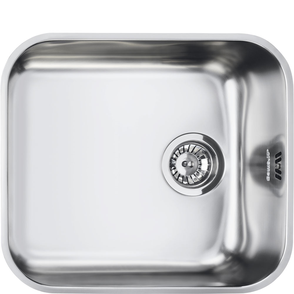 Smeg Alba UM45 1.0 Bowl Stainless Steel… Product Image