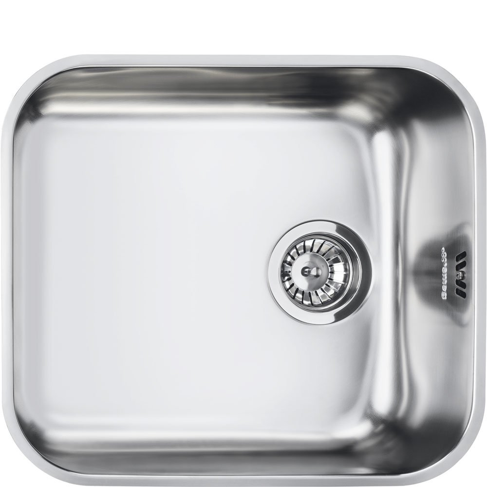 smeg alba um45 10 bowl stainless steel - Compact Kitchen Sink