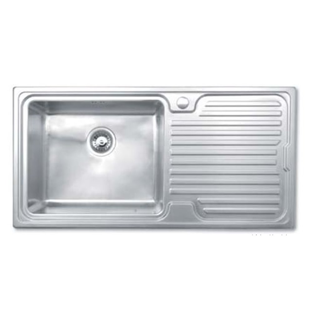 Bretton Park Avon 1.0 Bowl Stainless Steel Kitchen Sink - Left Handed