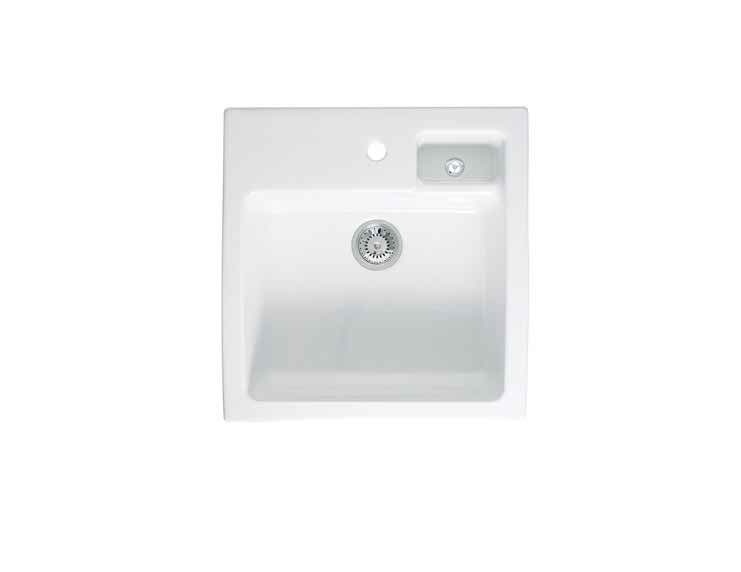 Astracast Canterbury 1.5 Bowl Gloss White Ceramic… Product Image