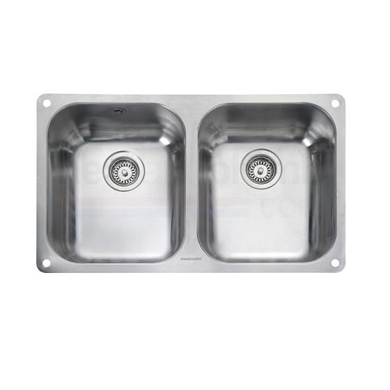 Rangmaster Atlantic Classic UB3535 2.0 Medium Bowl Stainless Steel Sink