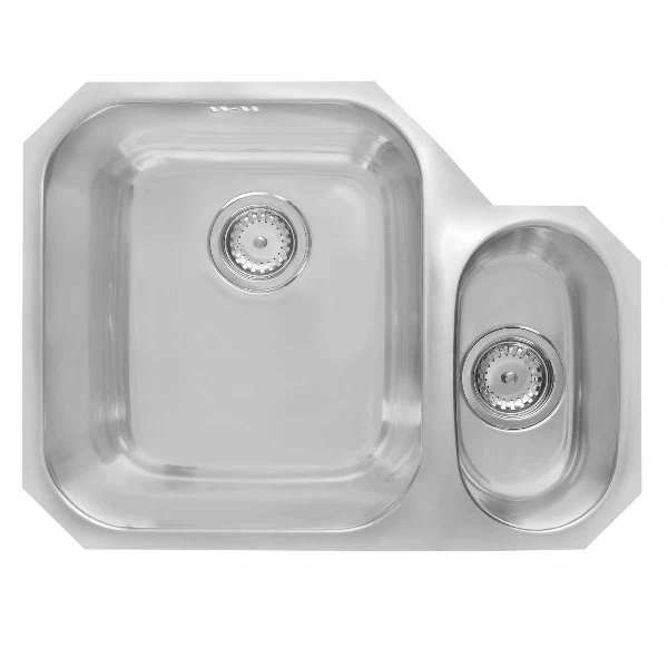 Bretton Park Columbia 1.5 Bowl Stainless Steel Undermount Kitchen Sink