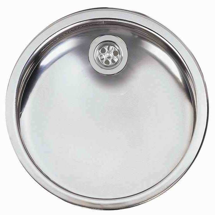 Bretton Park Elbe Round 1.0 Bowl Stainless Steel Undermount Kitchen Sink