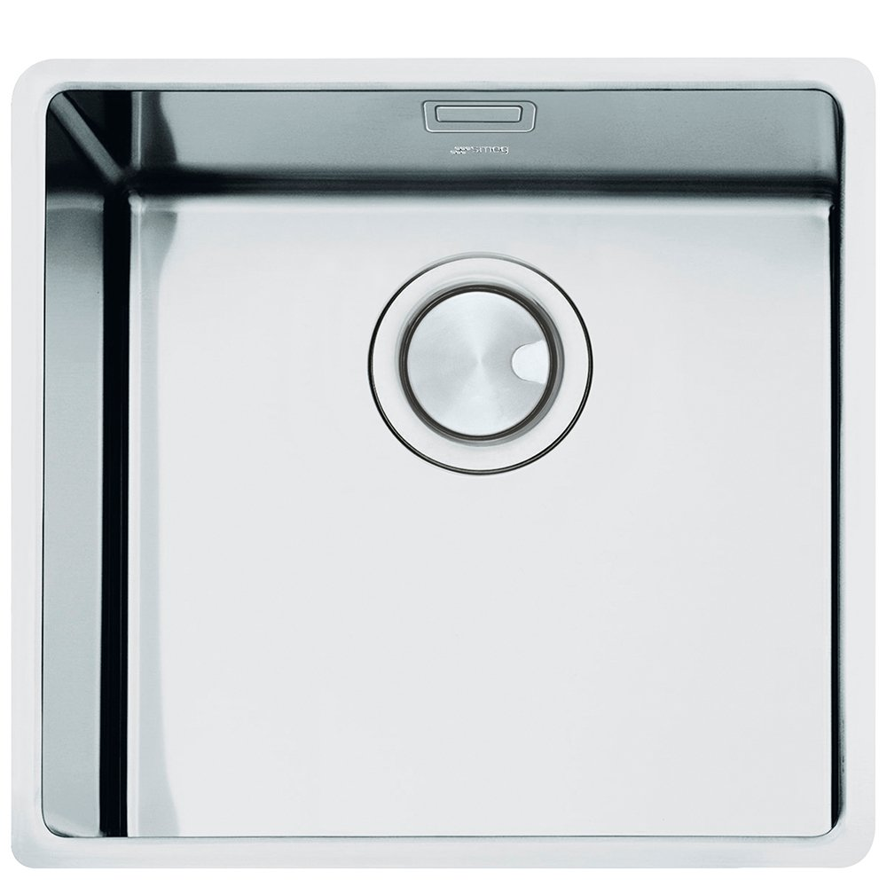 Smeg Mira 1.0 Bowl Stainless Steel Undermount Kitchen Sink