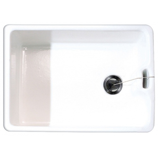 Bretton Park Murray Belfast 1.0 Bowl Gloss White Ceramic Kitchen Sink