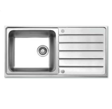 Bretton Park Ofanto 1.0 Bowl Stainless Steel Kitchen Sink