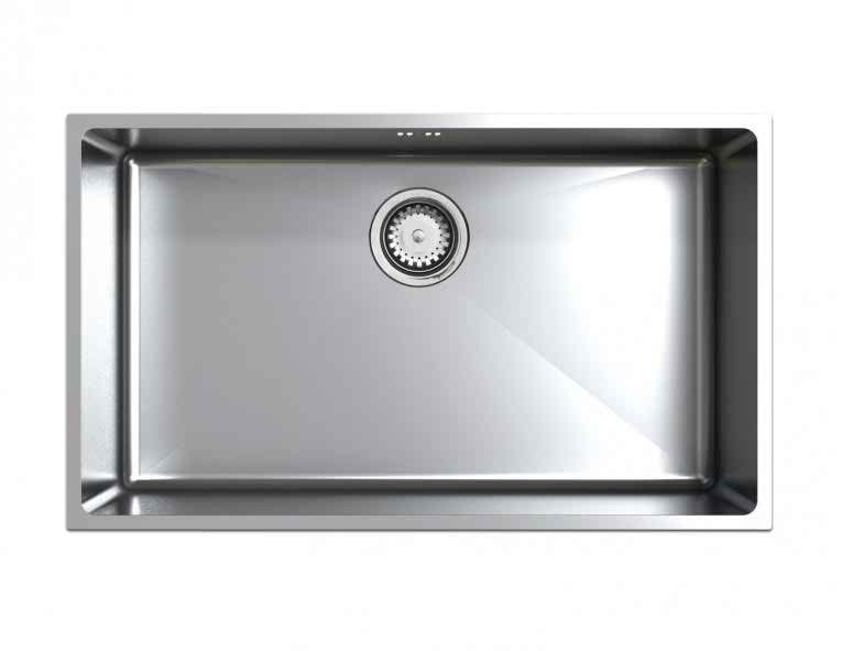 Astracast Onyx 4070 1.0 Bowl Stainless Steel Flush Inset Kitchen Sink