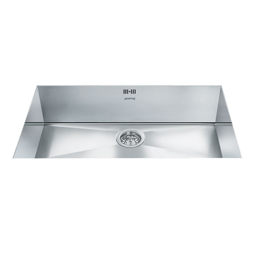 Smeg Quadra 1.0 Bowl Stainless Steel Undermount Kitchen Sink