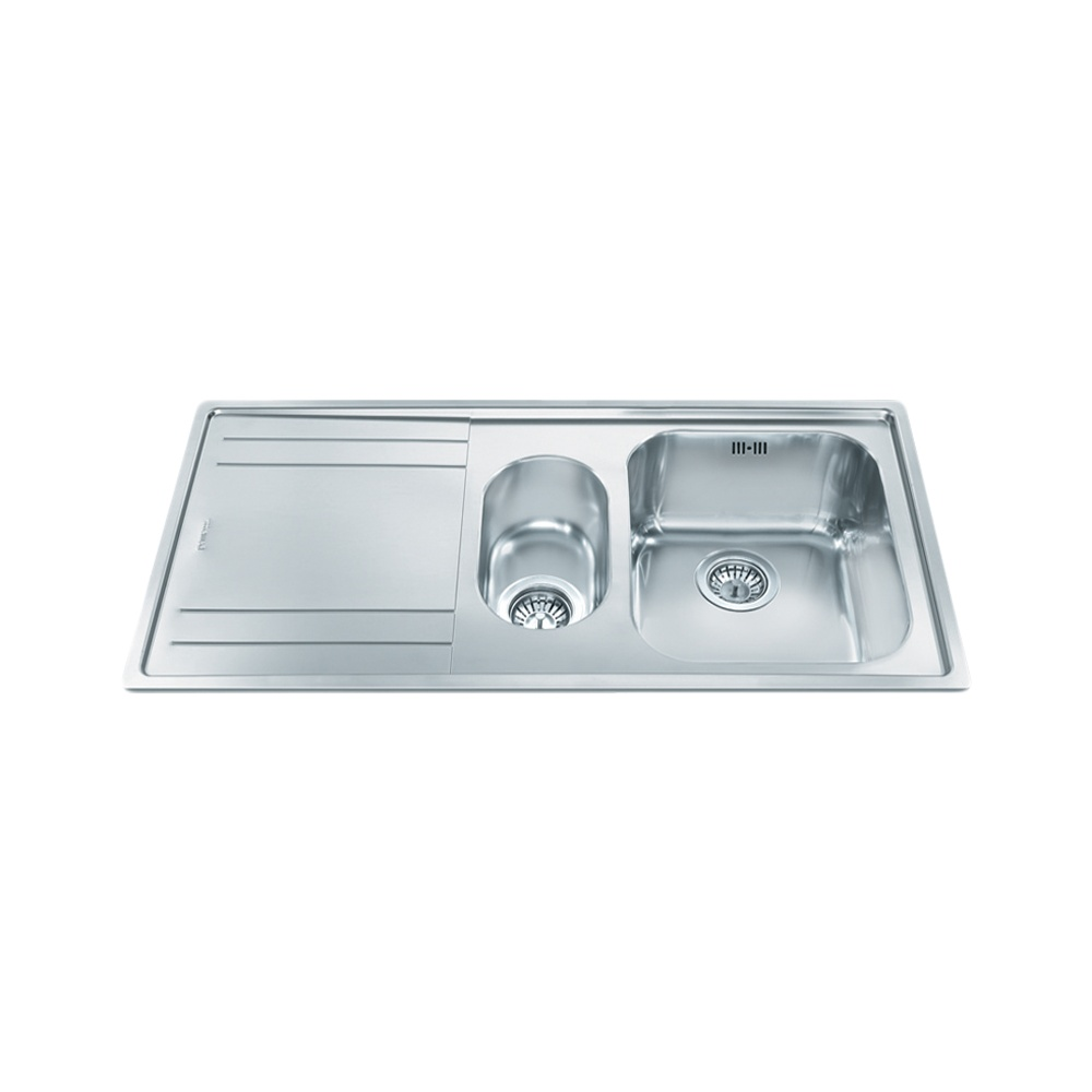 Smeg Rigae 1.5 Bowl Stainless Steel Kitchen… Product Image