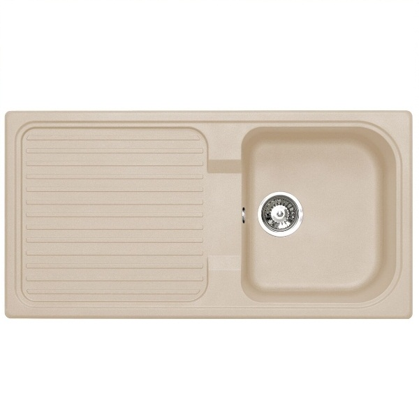 Bretton Park Rio 1.0 Bowl Granite Kitchen Sink - Sahara Beige