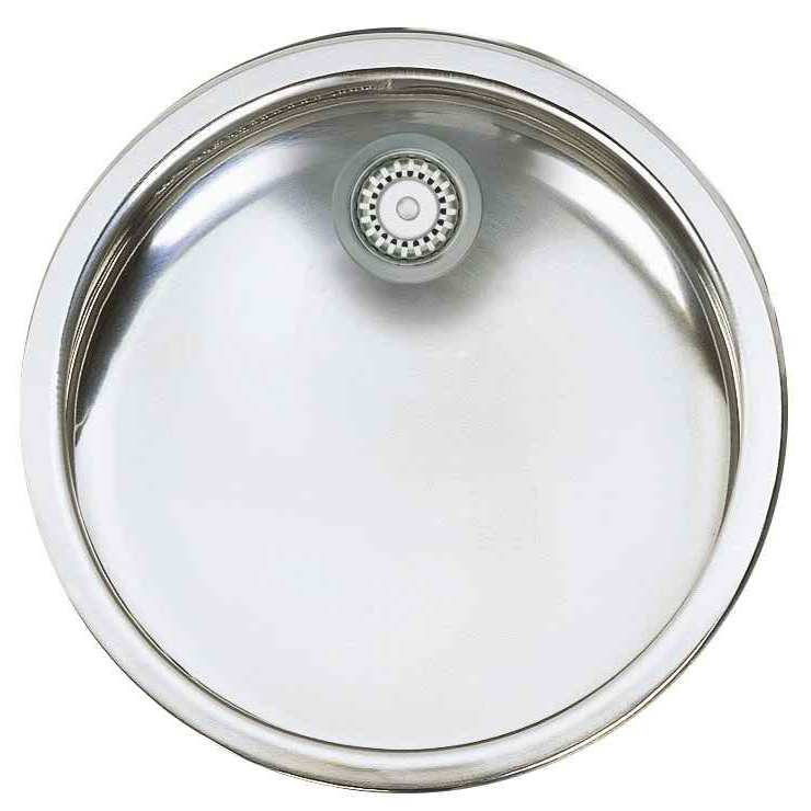 Bretton Park Satana Round 1.0 Bowl Stainless Steel Undermount Kitchen Sink