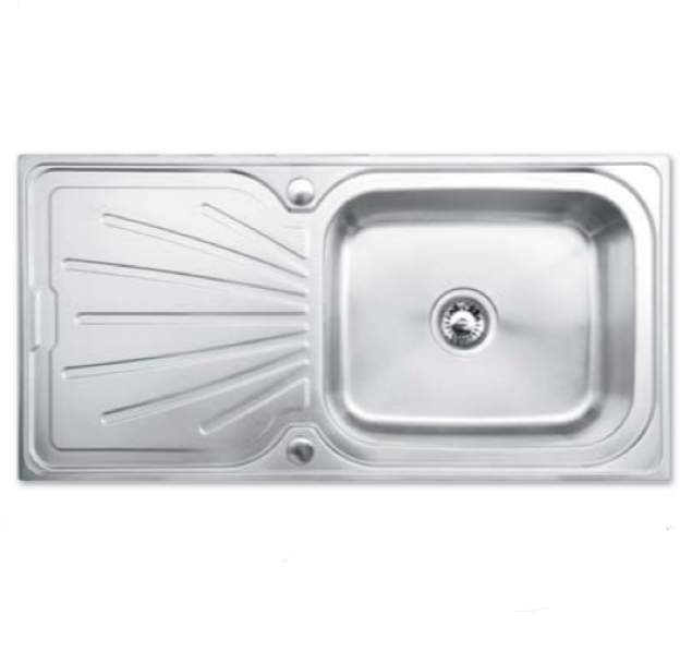 Bretton Park Tamar 1.0 Bowl Stainless Steel Kitchen Sink