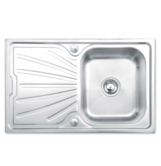 Bretton Park Tamar Compact 1.0 Bowl Stainless Steel Kitchen Sink