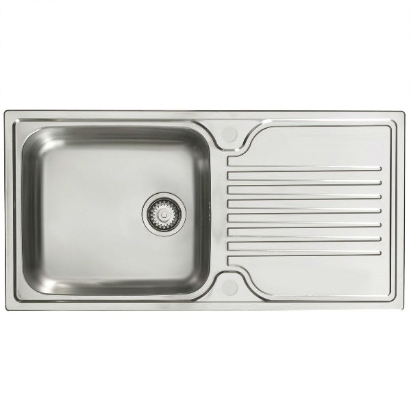 Bretton Park Ticino 1.0 Bowl Stainless Steel Kitchen Sink
