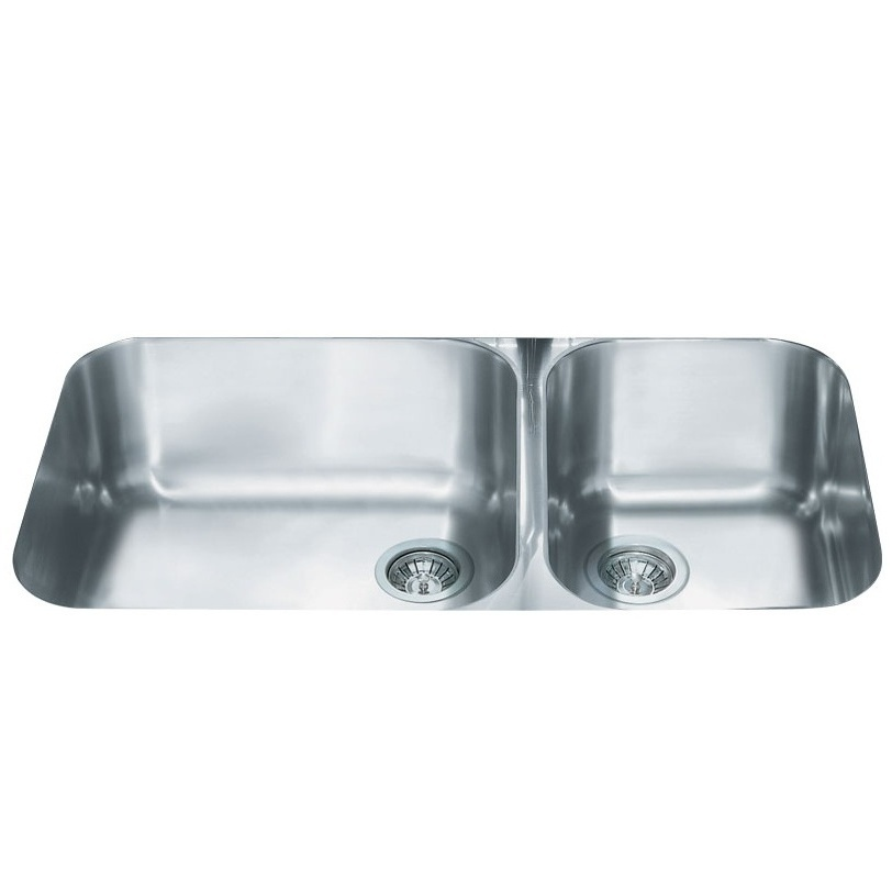 Smeg Alba UM4530 2.0 Bowl Stainless Steel Undermount Kitchen Sink