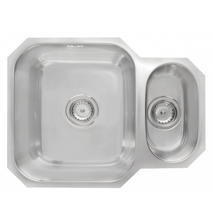 Bretton Park Verde 1.5 Bowl Stainless Steel Undermount Kitchen Sink