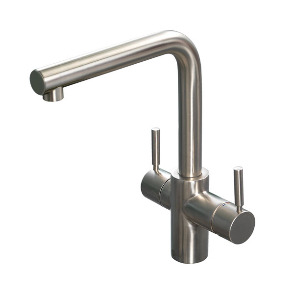 3N1 Insinkerator Brushed Steel Tap Product Image