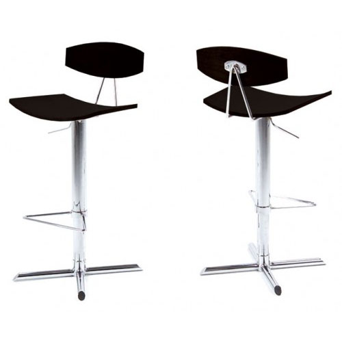 Alano Bar Stool - Black