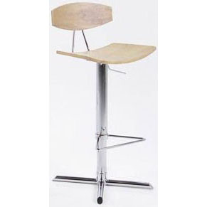 Alano Bar Stool - Oak