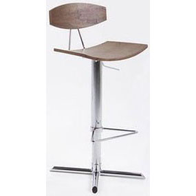 Alano Bar Stool - Walnut