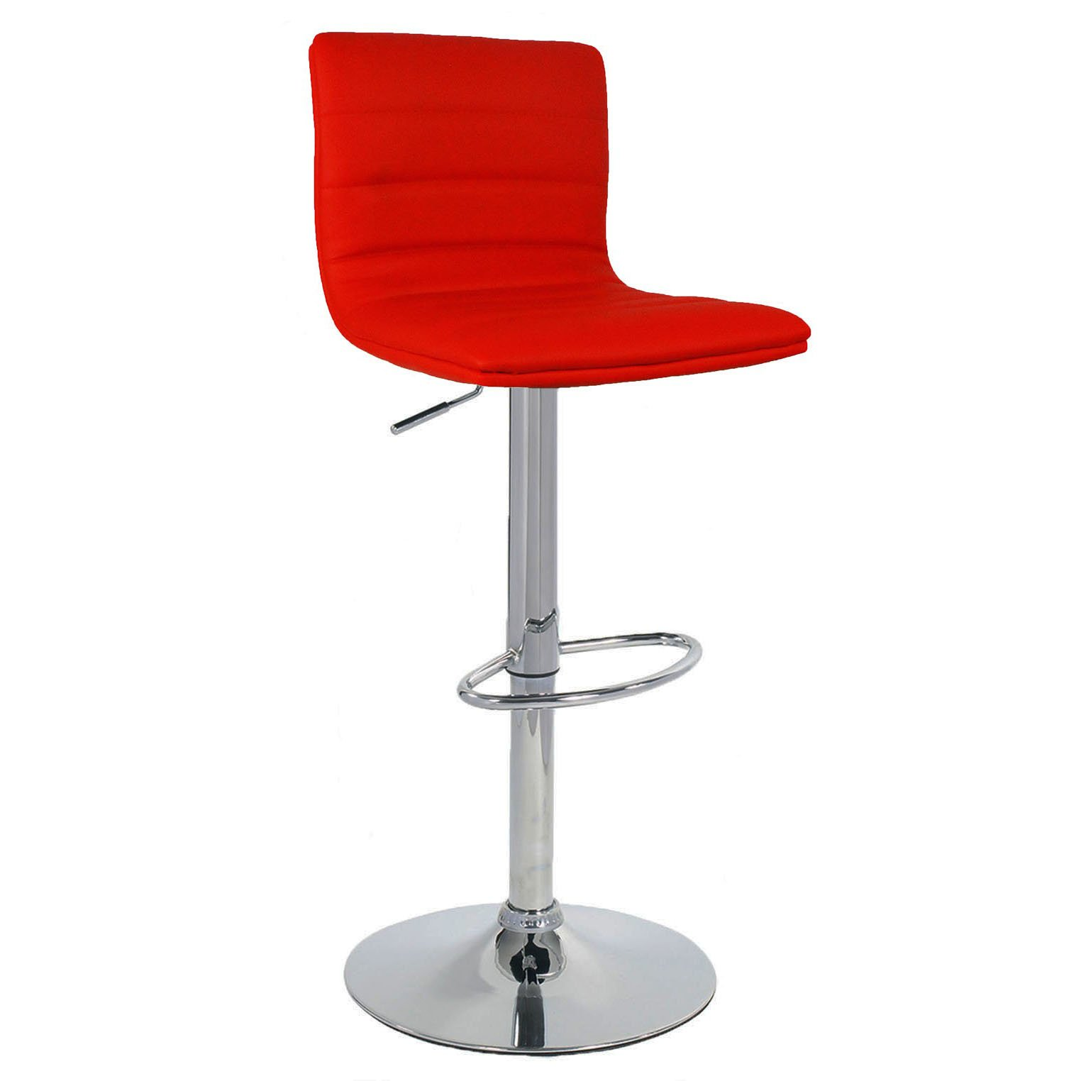 Aldo Bar Stool - Red Product Image