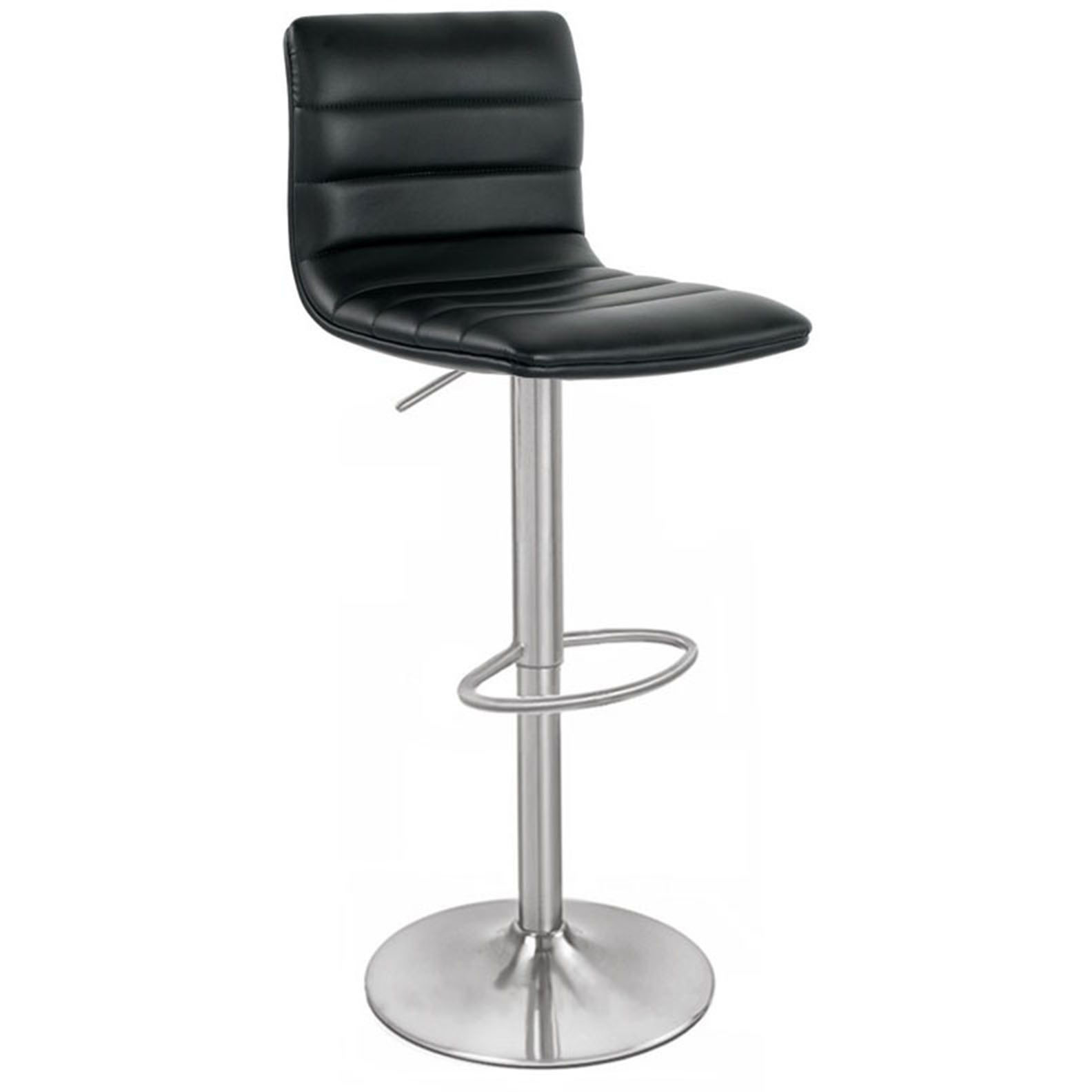 Aldo Brushed Bar Stool - Black Product Image