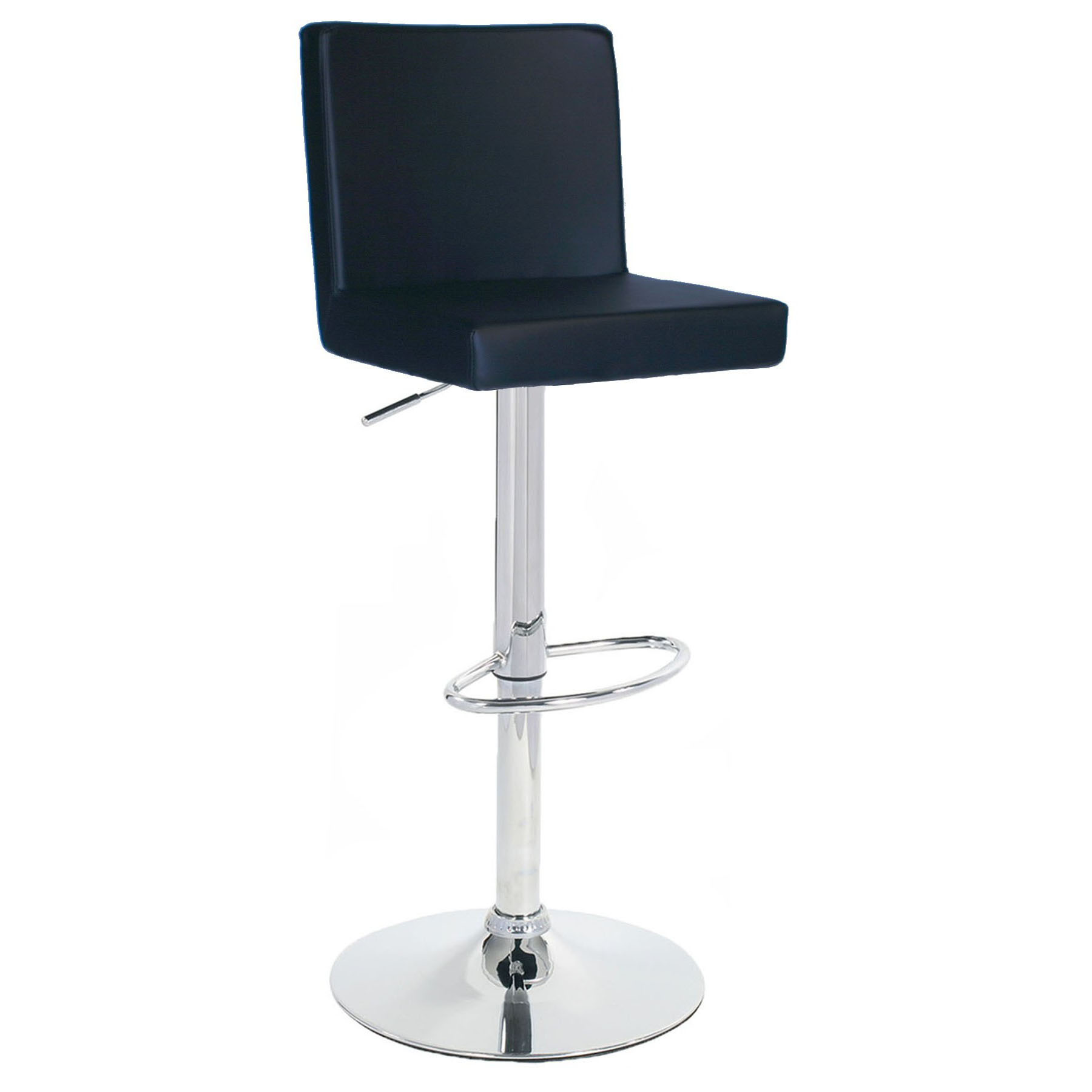Alessa Bar Stool - Black Product Image