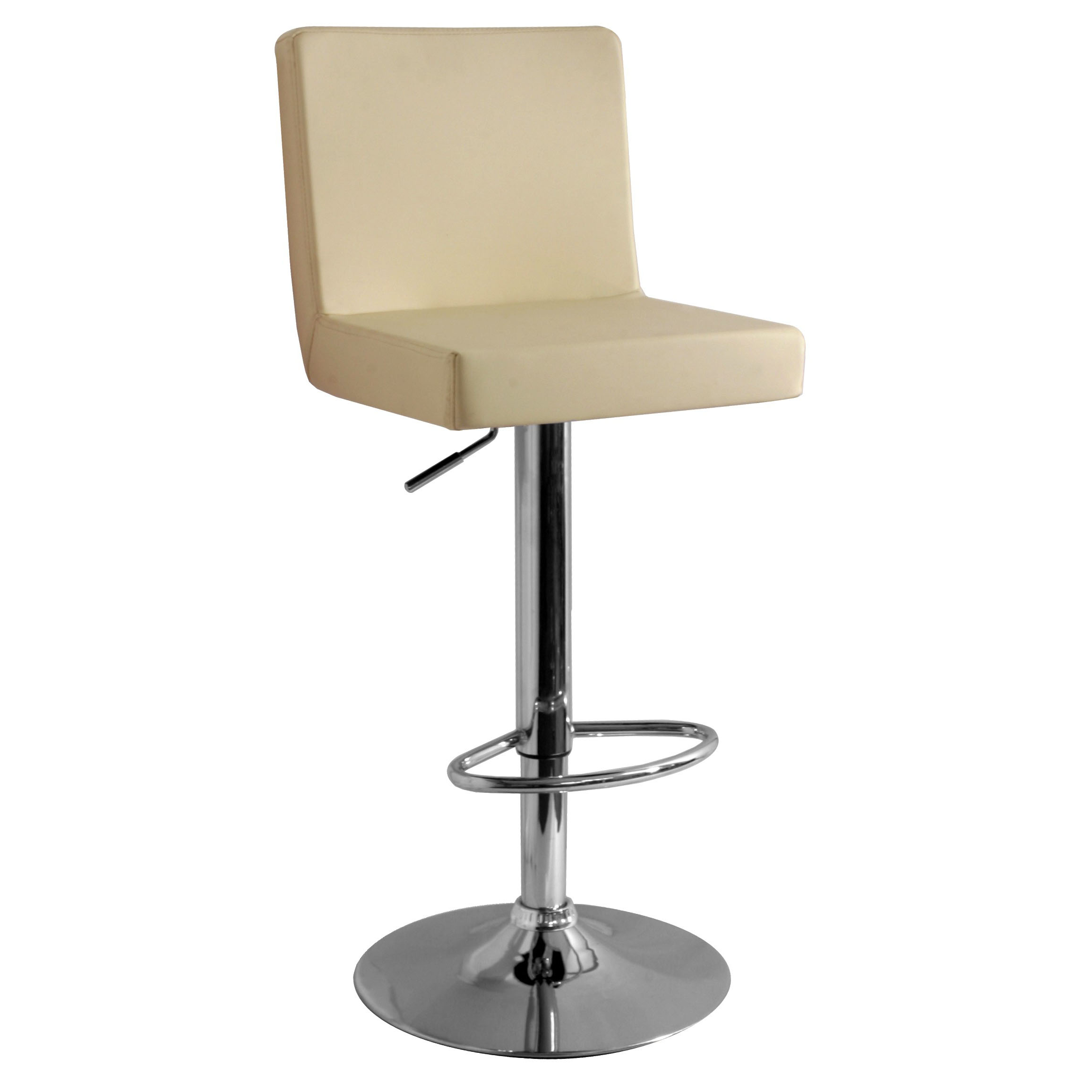 Alessa Bar Stool - Cream
