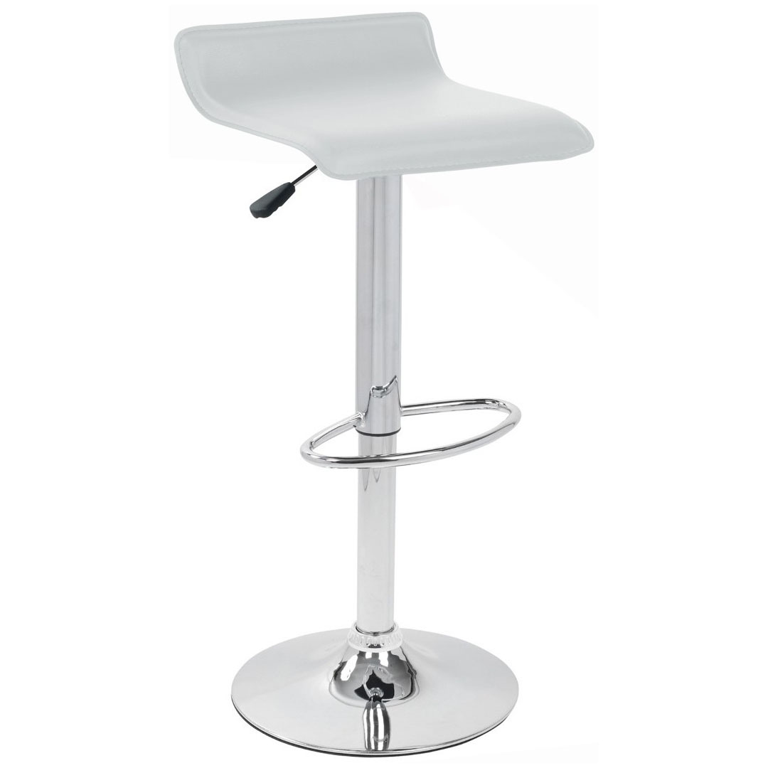 Baceno Bar Stool - White Product Image