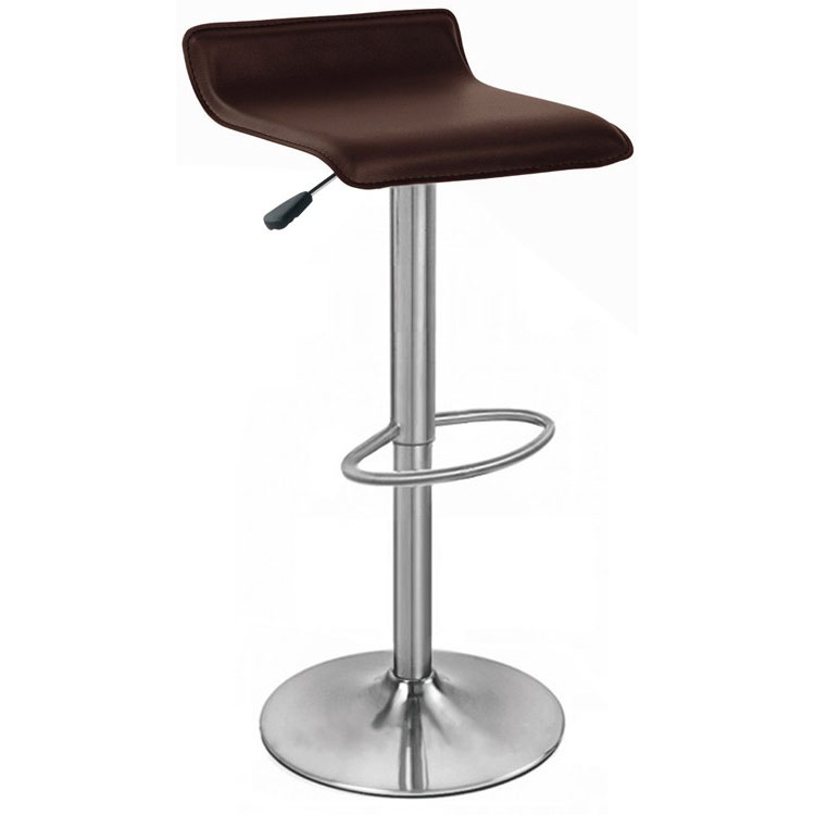 Baceno Brushed Bar Stool - Brown