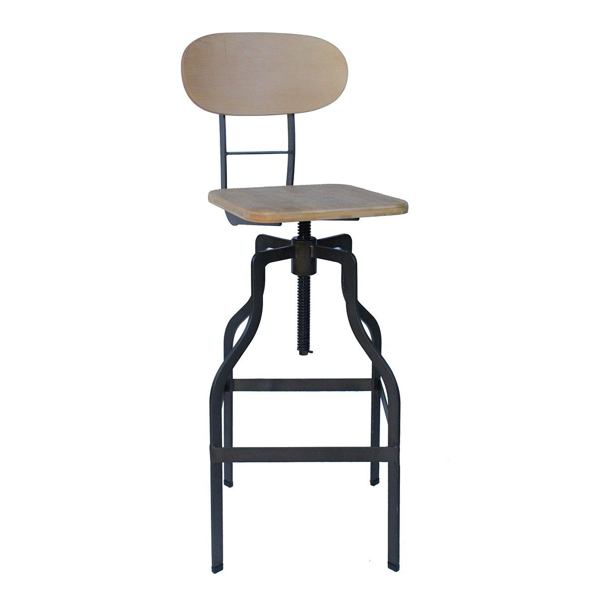 Bolzano Vintage Bar Stool - Natural Product Image